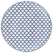 Mosaic Large Blue Plate