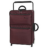 it luggage Worlds Lightest Medium 2 Wheel Chocolate Truffle/Black Suitcase
