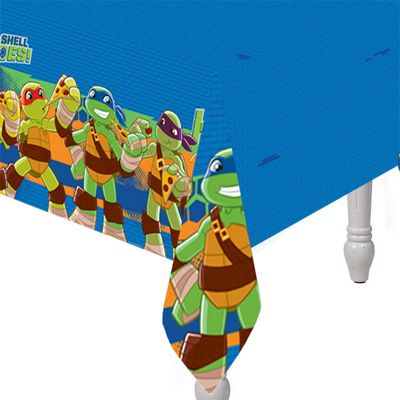 Half Shell Heroes Plastic Tablecover - 1.2m x 1.8m