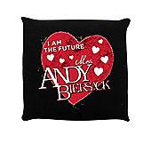 I Am The Future Mrs Andy Biersack Cushion 40x40cm Black