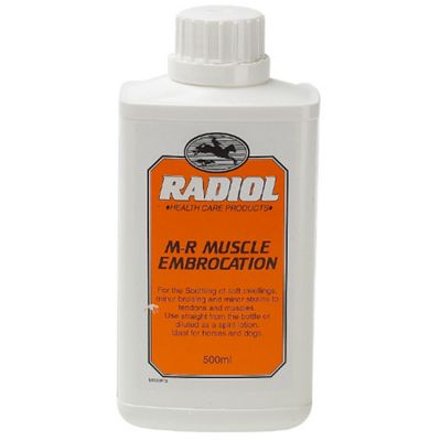 Radiol - M-R Muscle Embrocation x 500 Ml