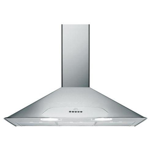 Indesit H593LIX 90cm Chimney Hood Stainless Steel