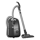 SEBO-E1-PLUS Bagged Cylinder Vacuum Cleaner with 3.5L Dust Capacity and 1200W Power in Grey