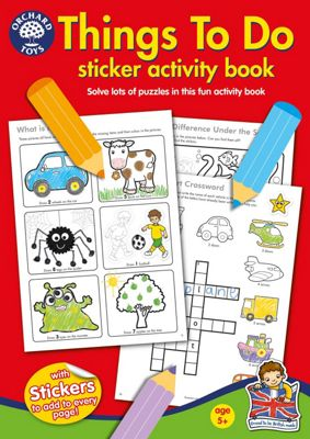 Orchard Toys Things To Do Sticker Activity Book