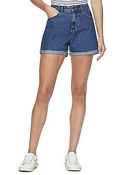 Vero Moda Denim Shorts - Blue