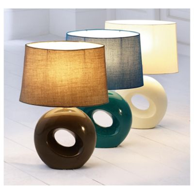 Buy Tesco Calypso Table Lamp Mocha From Our Table Desk Bedside