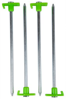 Mountain Warehouse Groundsheet Pegs - 9inches
