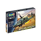 Revell GmbH AH-64A Apache Plastic Model Kit 1:100 Scale