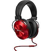 Pioneer SE-MS5T Hi-Res Dynamic Headphones Red