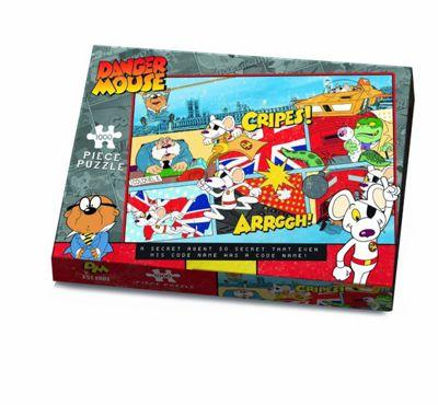 Danger Mouse 1000 Piece Puzzle - Cripes