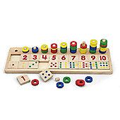 Viga Wooden Count and Match
