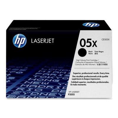 HP 05X (CE505XD) 2-pack High Yield Black Original LaserJet Toner Cartridges Multipack CE505XD