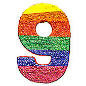 Number 9 Piñata