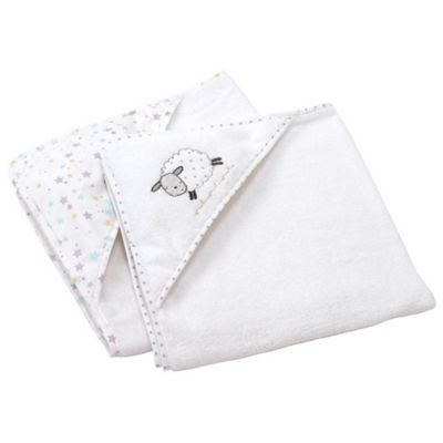 Silver Cloud 2pk Cuddle Robes (Counting Sheep)