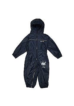Regatta Kids Puddle IIII All in 1 Suit - Navy