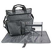 Tesco changing bag, grey