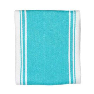 Now Designs Symmetry Tea Towel, Bali Blue