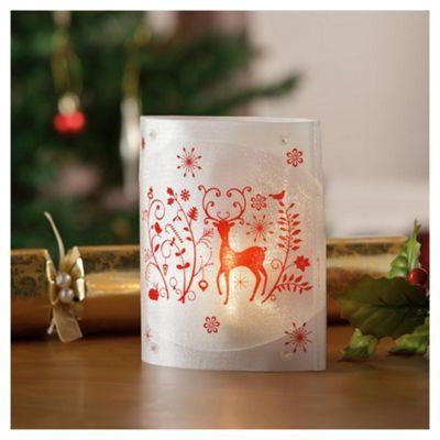 Tesco LED Reindeer Table Top Christmas Light