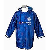 Chelsea FC Official Rain Mac - Blue