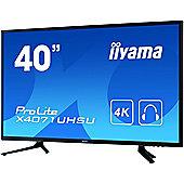 "iiyama ProLite X4071UHSU-B1 101.6 cm (40"") LED Monitor - 16:9 - 3 ms"