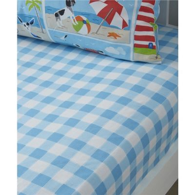 Bedlam Patch Seaside Fitted Sheet - Junior
