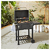 Tesco American Charcoal Grill BBQ, with Cover