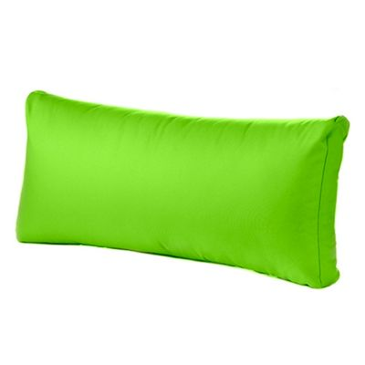 Lime Water Resistant 80cm x 40cm Replacement Back Cushion for Rattan Furniture