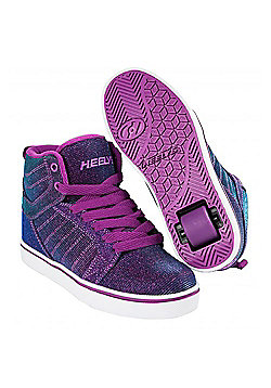 Heelys Uptown Berry/Aqua Colourshift Kids Heely Shoe - Purple