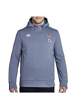 Canterbury England Rugby RFU Vapodri Tech Fleece OTH Hoody 2017 - Folkstone Gray - Grey