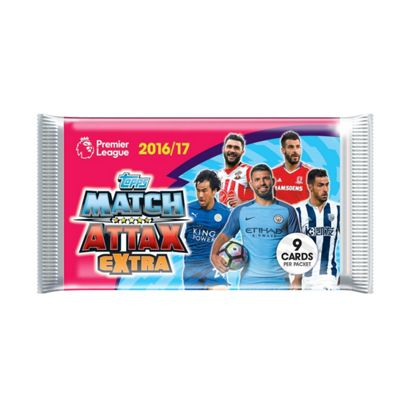 Match Attax 16/17 Extra Boosters - Pack Of 5