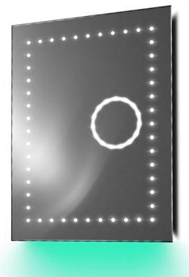Magnification Shaver Mirror with Ambient Under Lighting, Demist & Sensor k101t