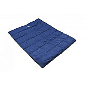 Regatta Maui 300gsm Double Sleeping Bag Navy
