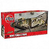 WWI Female Tank (A02337) 1:76