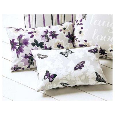 Dreams n Drapes Sakura Mauve Cushion Cover - 28x38cm