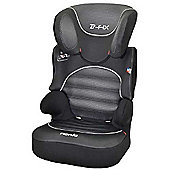 Nania 1St Befix SP High Back Booster Car Seat without harness, Group 2-3, Graphic Black