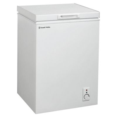 Russell Hobbs RHCF103, Chest Freezer, 98L Capacity, White