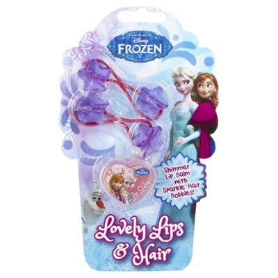 Disney Frozen Lovely Lips & Hair Gift Set