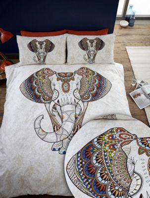 Samburu duvet cover and pillowcase set - multi - single