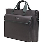 "Manhattan London 438889 Carrying Case (Briefcase) for 39.6 cm (15.6"") Notebook - Black"