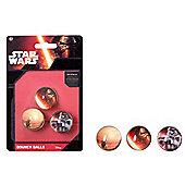 Star Wars Bouncy Balls, Pack of 3