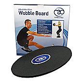 Yoga Mad 40cm Adjustable Wobble Board