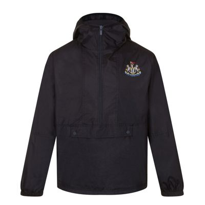 Newcastle United FC Boys Half Zip Shower Jacket 6-7 Years