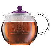 Bodum Assam Tea pot 1l, Purple