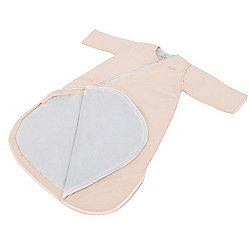 Purflo Jersey Cotton/Bamboo lining Baby Sleepsac 2.5 TOG 9-18 mths French Pink