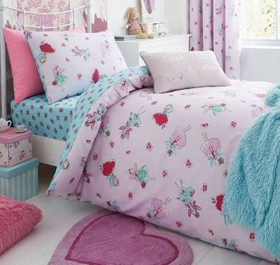 Catherine Lansfield Fairies Junior Duvet Set