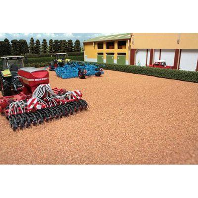 Brushwood Bt2082 Brown Field - 1:32 Farm Toys