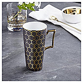 Fox & Ivy Soho Black Latte Mug