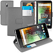 **Orzly** Multifunctional Wallet Stand Case for OnePlus Two - Grey