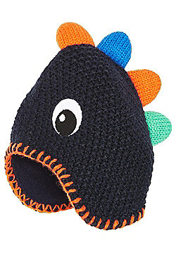 F&F Fleece Lined Dinosaur Hat - Multi