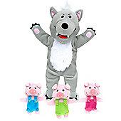 Fiesta Crafts Big Bad Wolf & 3 Little Pigs